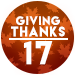 Giving Thanks 2017